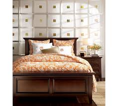 i am in love with pottery barn s hudson bed the headboard is just the right height and the footboard is perfect i came across your website while searching