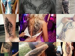 татуировка крылья Shramkievua