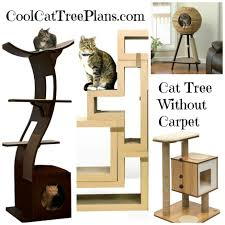 Cat Playhouse Designs Best Cat Tree Without Carpet Ideas Cool Cat Tree Plans