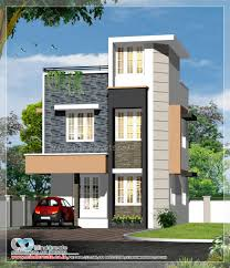 Small Picture 1300 sqft 4 bedroom contemporary model plan Innovative design
