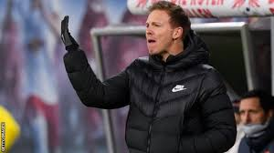 Rb leipzig coach julian nagelsmann celebrates after his side eliminated tottenham hotspur in march to reach the champions league quarterfinals. Julian Nagelsmann Bayern Munich S Move For Rb Leipzig Coach Is Demonstration Of Pure Dominance Bbc Sport