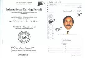 Driver's - Is What Quora An Printed License Information On International