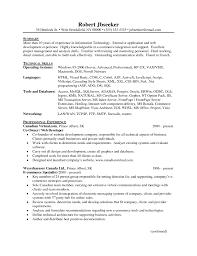 sample net developer resume dot net resume sample