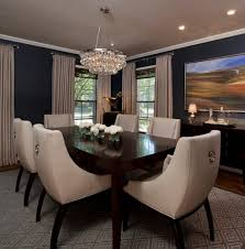 good lighting for dining room arctic pear chandelier patterned rug minimalist dining table cream grey curtain
