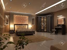 Immagini Di Camere Da Letto Moderne : Interior design di grande camera da letto moderna in luce