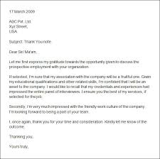 Thank You Letter After Group Interview Erpjewels Com