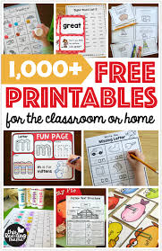 thousands of free printables for the clroom or home this reading mama