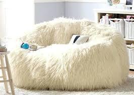 fuzzy bean bag chair large gy faux fur beanbag cover plush bean bag chair white giant furry bean bag chair
