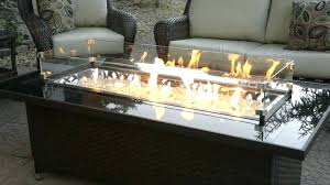 table fire pit coffee table dining tabletop pits diy indoor