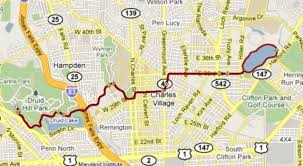 Baltimore 10 Miler Elevation Chart The Running Moron A Moron Runs The Baltimore 10 Miler Again