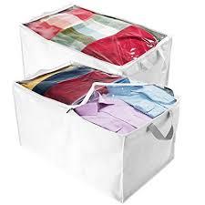 Amazon.com: ZOBER Jumbo Blanket, Storage Bags with Zipper, Comforter ...