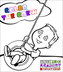 kids against bullying coloring book