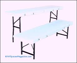 plastic folding picnic table bench choice image table decoration ideas plastic folding picnic table lifetime inch almond round