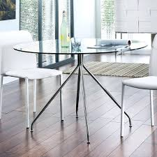 glasetal dining table amazing small round glass table modern dining glass top metal base