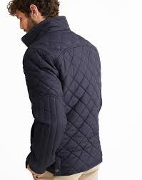 Mens Jackets & Coats | Bomber, Waterproof & Quilted | Joules & RETREAT Quilted Jacket Adamdwight.com