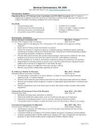 Professional Summary For Nursing Resume Professional Nursing Resume ...
