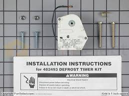 whirlpool w10822278 defrost timer partselect ca 11723171 2 s whirlpool w10822278 defrost timer