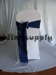 200 navy blue satin chair sashes for wedding chair cover sashes chair ribbon for banquet chair lace fabric in sashes from home garden on aliexpress com
