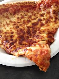 whole cheese pizza sliced. Exellent Sliced Sliceofcheesepizzaonplate For Whole Cheese Pizza Sliced D