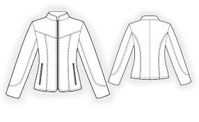 leather jacket sewing pattern 4296