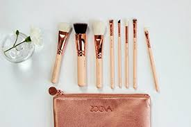 amazon makeup brushes set zoeva rose golden rose golden vol 2 luxury set 8 pennelli makeup arts crafts sewing