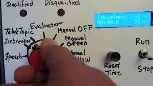 Toastmasters Speech Timing Lights Toastmasters Timing Light Prototype