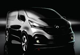 new car release for 2014Renault Releases Sketch of New Trafic Van for 2014  autoevolution
