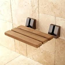 shower seat recalled mounted wall with oil rubbed bronze finish teakwood height depth teak folding shower seat