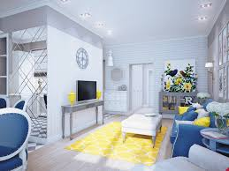 more images of yellow and blue bedroom decorating ideas