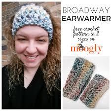Ear Warmer Crochet Pattern Enchanting Broadway Earwarmer Moogly