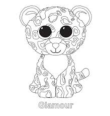Bamboo Coloring Pages Beanie Boos Coloring Pages Online