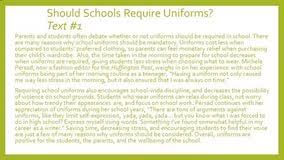 against school uniforms debate essay managerial economics against school uniforms debate essay
