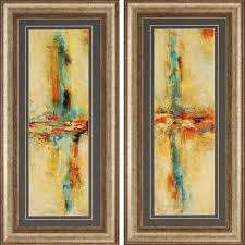 paragon equilibrio by santos 46 x 22 inch framed wall art set of on set of two framed wall art with paragon equilibrio by santos 46 x 22 inch framed wall art set of