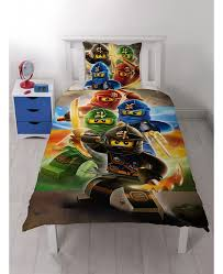 this lego ninjago quadrant single duvet