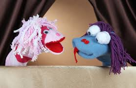 sock puppet home theater diy