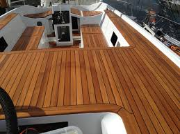 stunning teak wood boat how to make templates for synthetic teak decking boat flooring and