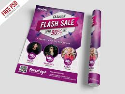 Fashion Sale Flyer Template Free Psd Psdfreebies Com