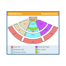 Cynthia Woodlands Seating Chart Specific Cynthia Woods Mitchell Pavilion Parking Map Cynthia
