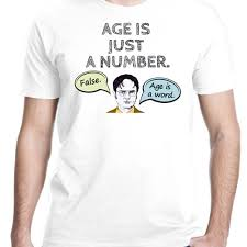 the office merchandise. Large-size Of Fascinating Summer Famous Brand Age Is Just A Number Office Printed T The Merchandise