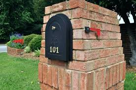 Mail Boxes Ideas Modern Mailbox Post New Mail Box Ideas Image Of Mid