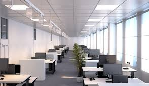 office space lighting. Boost The Productivity Of Your Office Space With LED Lighting