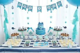 Baby Shower Table Ideas Boy A Boys Whale Themed Ba Shower Spaceships And  Laser Beams Idea