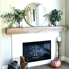 mantel shelf ideas fireplace simple with round mirror shelves design for brick mant