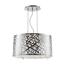 worldwide lighting w8318 julie 4 light oval crystal drum chandelier