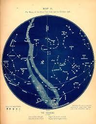 Inspiration Vintage Constellation Maps Constellation