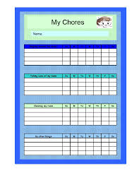 chore chart template for teenagers 28 images of teen boy chore chart template stupidgit com