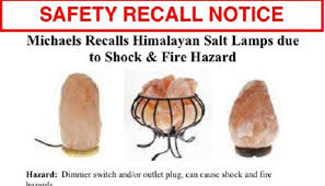 Himalayan Salt Lamp Recall Cool Consumer Product Safety Commission Issues Salt Lamp Recall