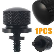 <b>1pcs Black Stainless Steel</b> Motorcycle Seat Cover Bolt Bille Seat Bo ...