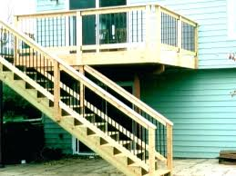 prefab outdoor steps fab wooden steps outdoor how to build deck without stringers wood integrated non prefab outdoor steps
