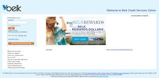 how to login to belk credit card